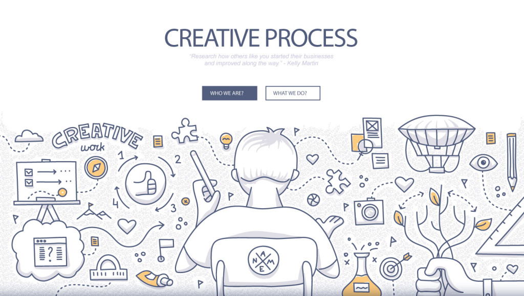 freelance creative process
