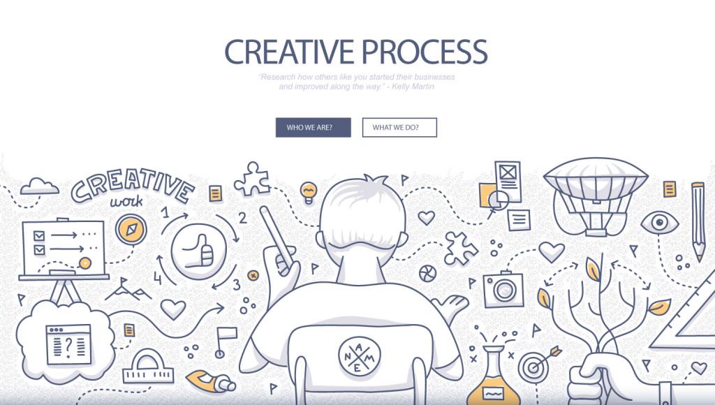 freelance creative process