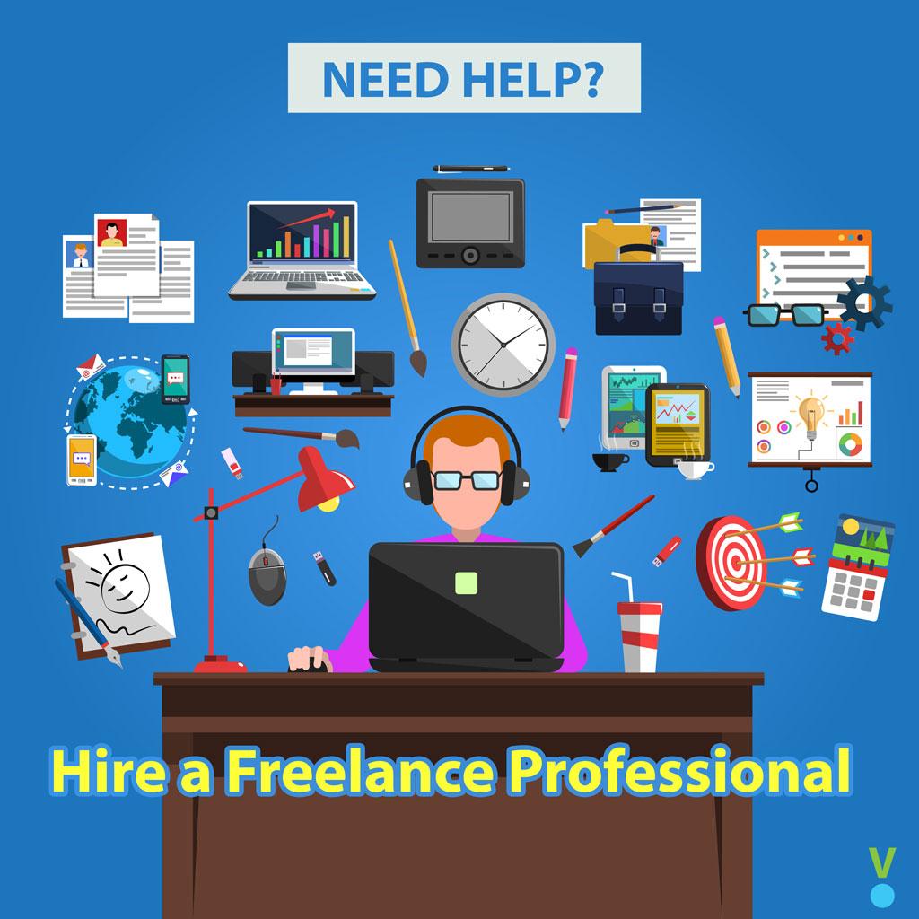 hire a freelance professional