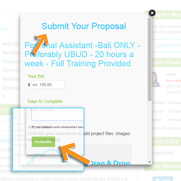 Submit VSN Proposal