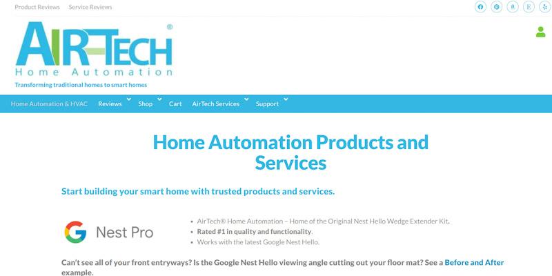 AirTech Home Automation