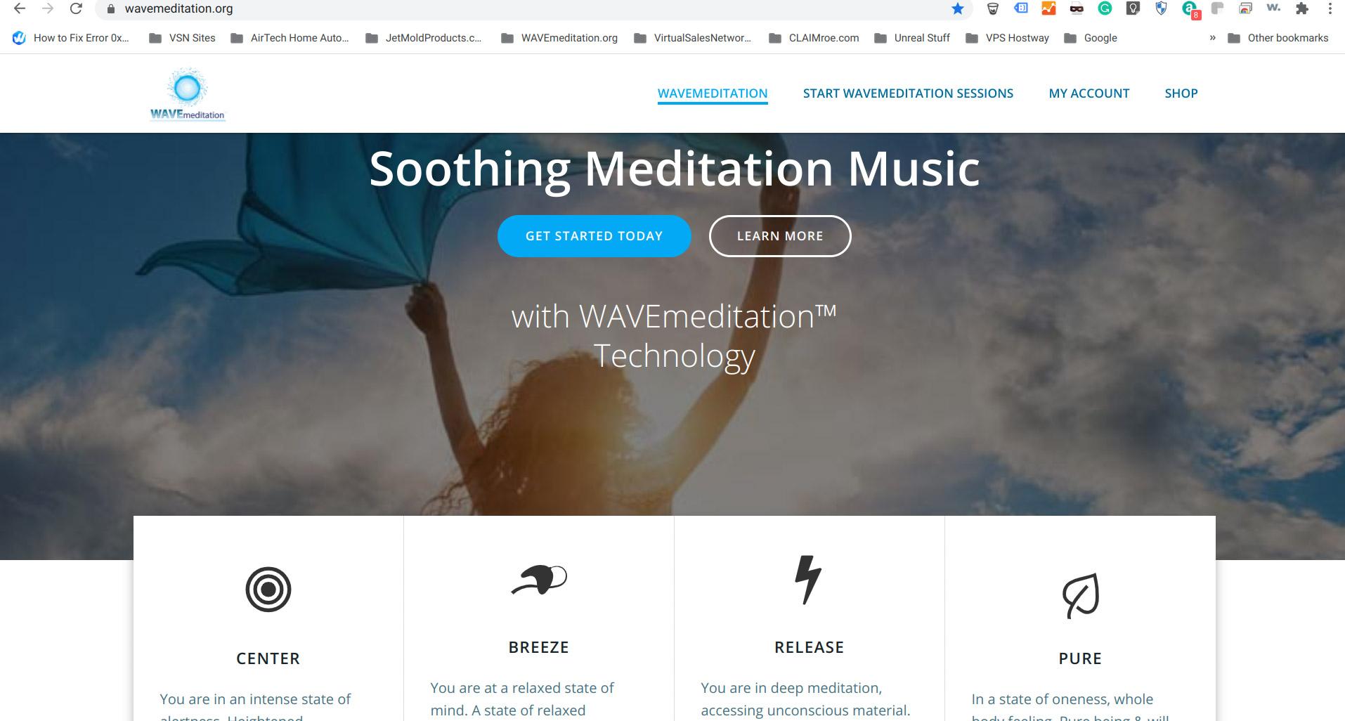 WAVemeditation.org